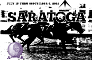 Saratoga Horse Racing Banner